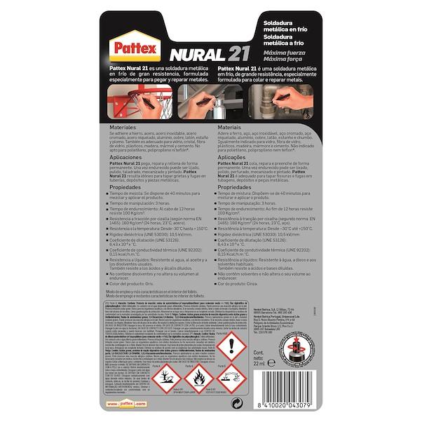 FRIO NURAL 21 PATTEX 11ML