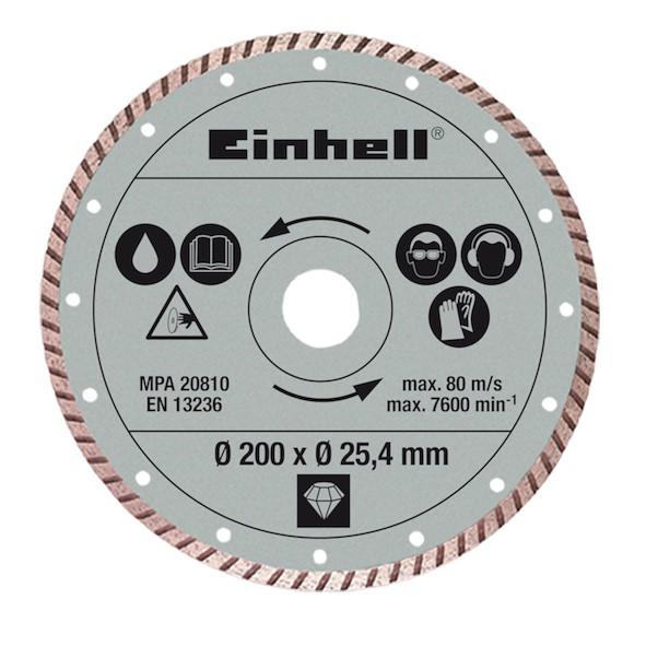 EINHELL CORTE HÚMIDO 200MM