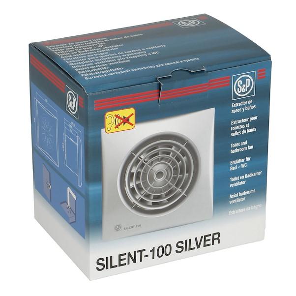SILENT C100 CINZA INOX