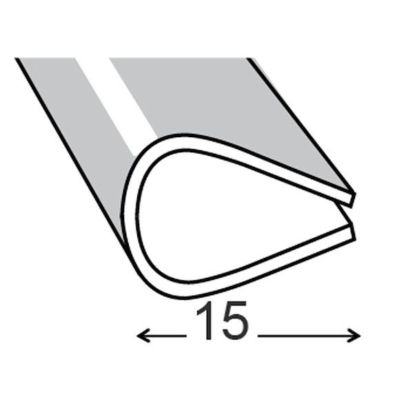 PVC PRETO 15MM 200CM