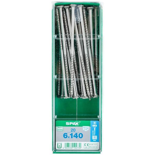 TORX INOX 6X140 LB SPAX