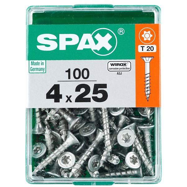 TORX  WIROX 4X25 M SPAX