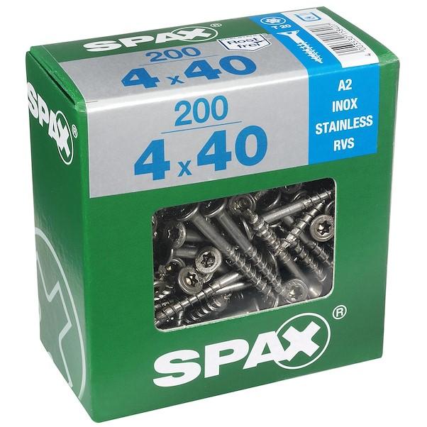 TORX INOX 4X40 XL SPAX