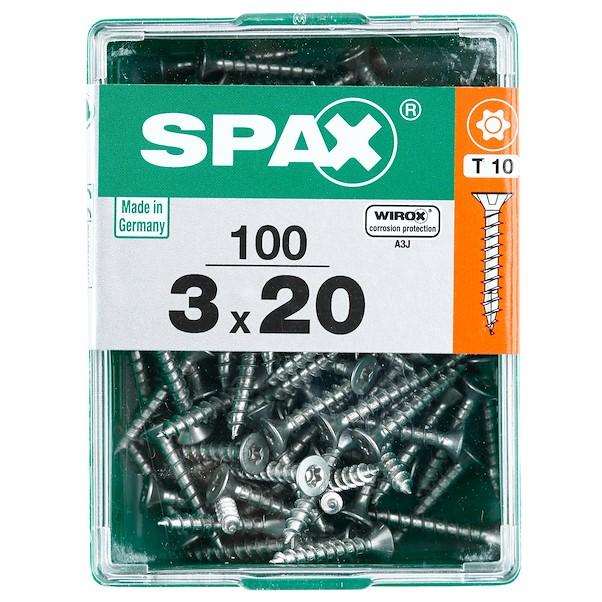 TORX  WIROX 3X20 M SPAX