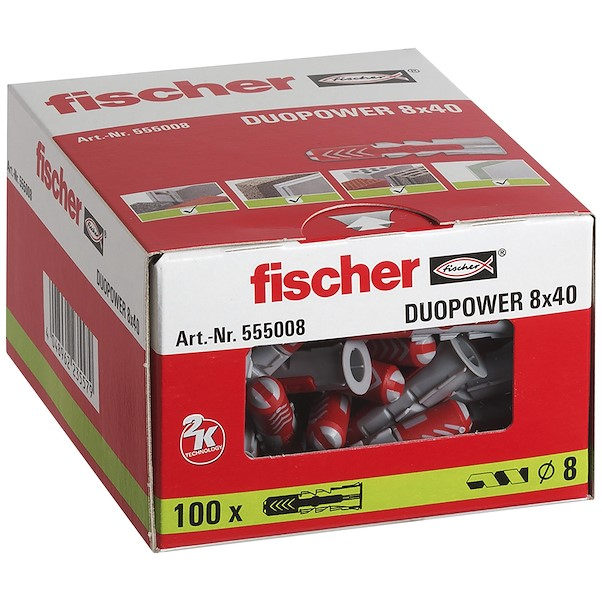 FISCHER DUOPOWER 8X40MM