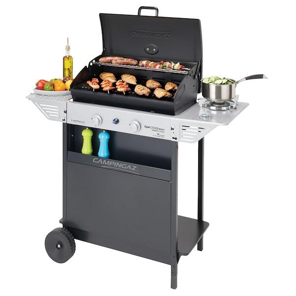 barbecue a gás campingaz 2b xpert 200 ls rocky  leroy