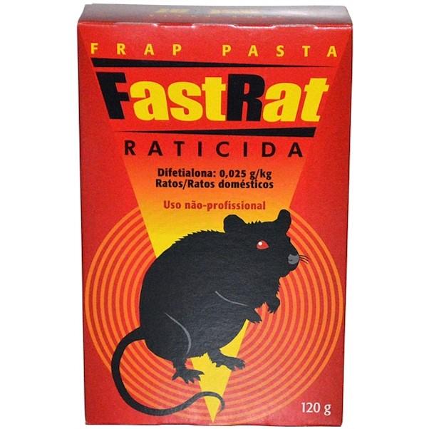 PASTILHAS FAST RAT 120G