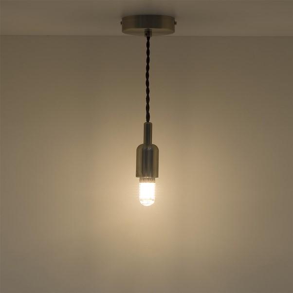 LED MINITUBO E27 3.5W AMARELA