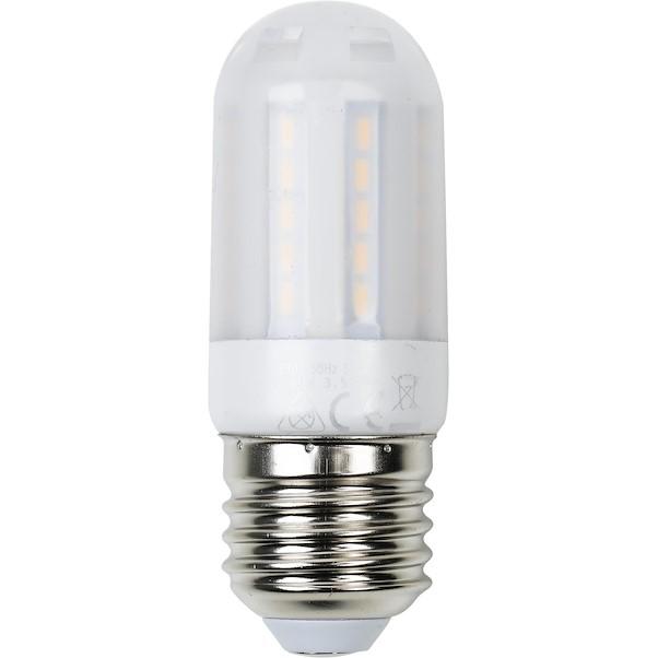 LED MINITUBO E27 3.5W AMARELA MATE