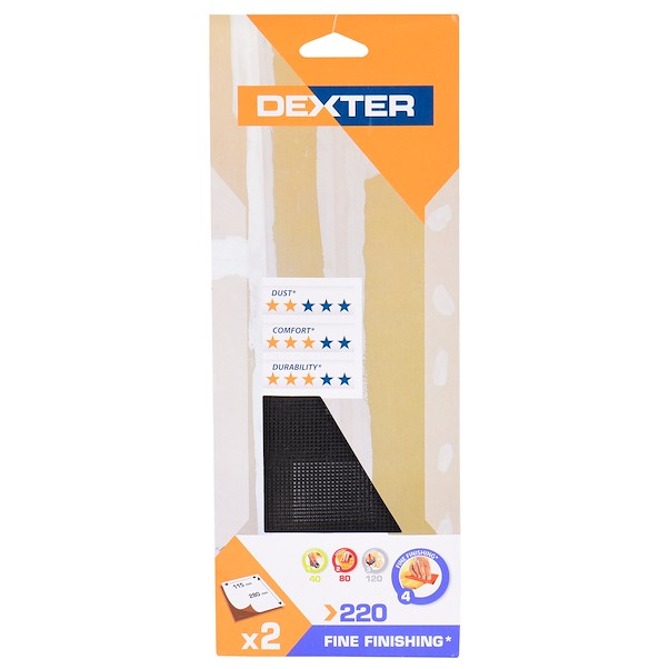 DEXTER PAREDE 115X280 G220