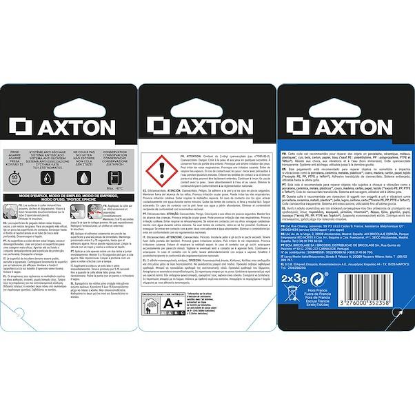 PACK 2 AXTON 3G