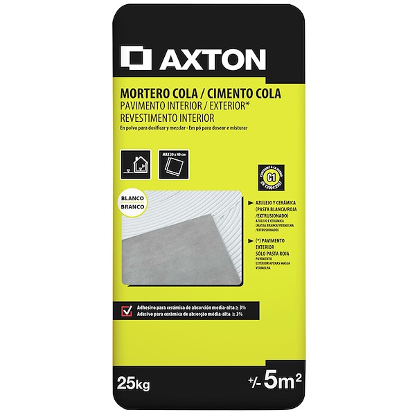 AXTON INT/EXT BRANCO 25KG