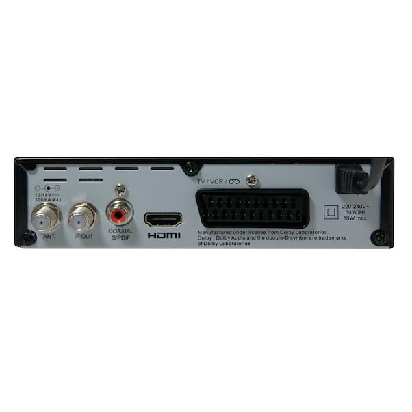 METRONIC DVB-S2 HD SCART & HDMI