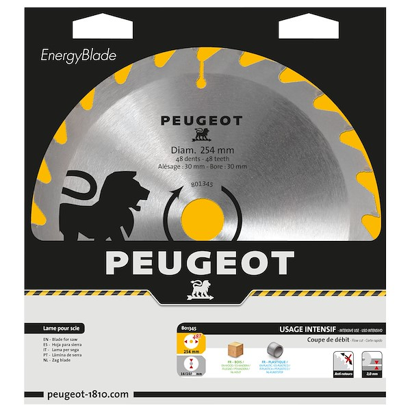 PEUGEOT 254MM 48 DENTES