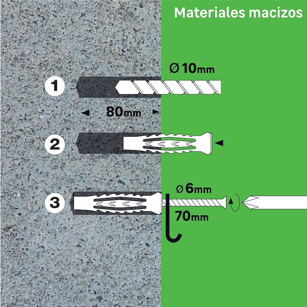 MULTIMATATERIAL 10X60MM PARAFUSO