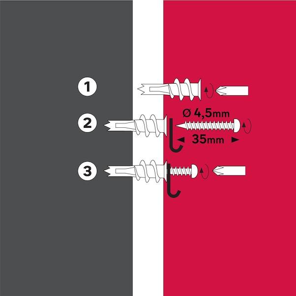 AUTOPERFURANTES 4.5X35MM COM PARAFUSO PARAF