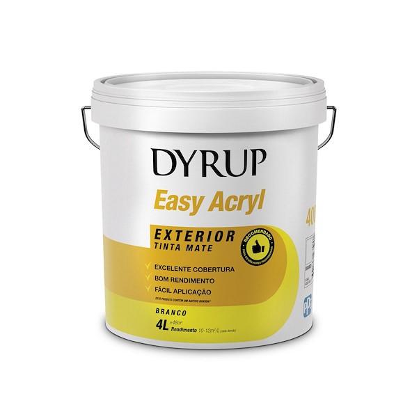 EASY ACRYL BRANCO 4L DYRUP