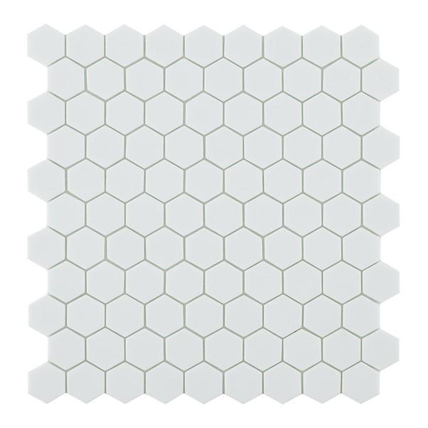 NORDIC MATT WHITE HEX 910H