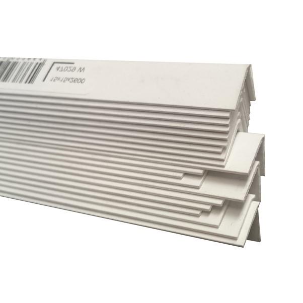 PVC BRANCO 15X15X2600MM