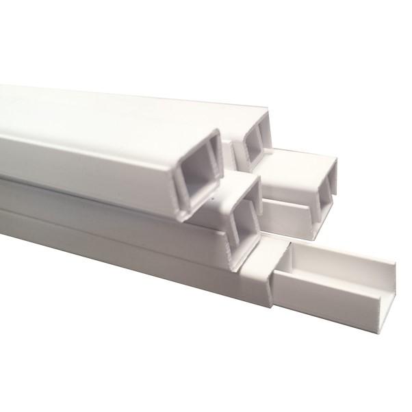 PVC BRANCO 18X18X2600MM