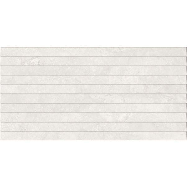 HIMALAYA CARVED WHITE 30X60CM
